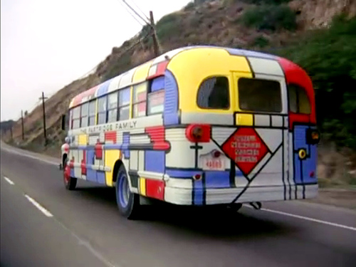 Tour Buses that Defined a Generation and Changed the World