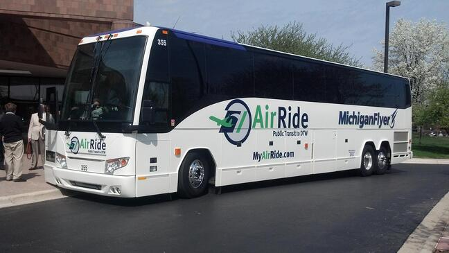 Airport Shuttle Transportation - In Michigan, It's Michigan