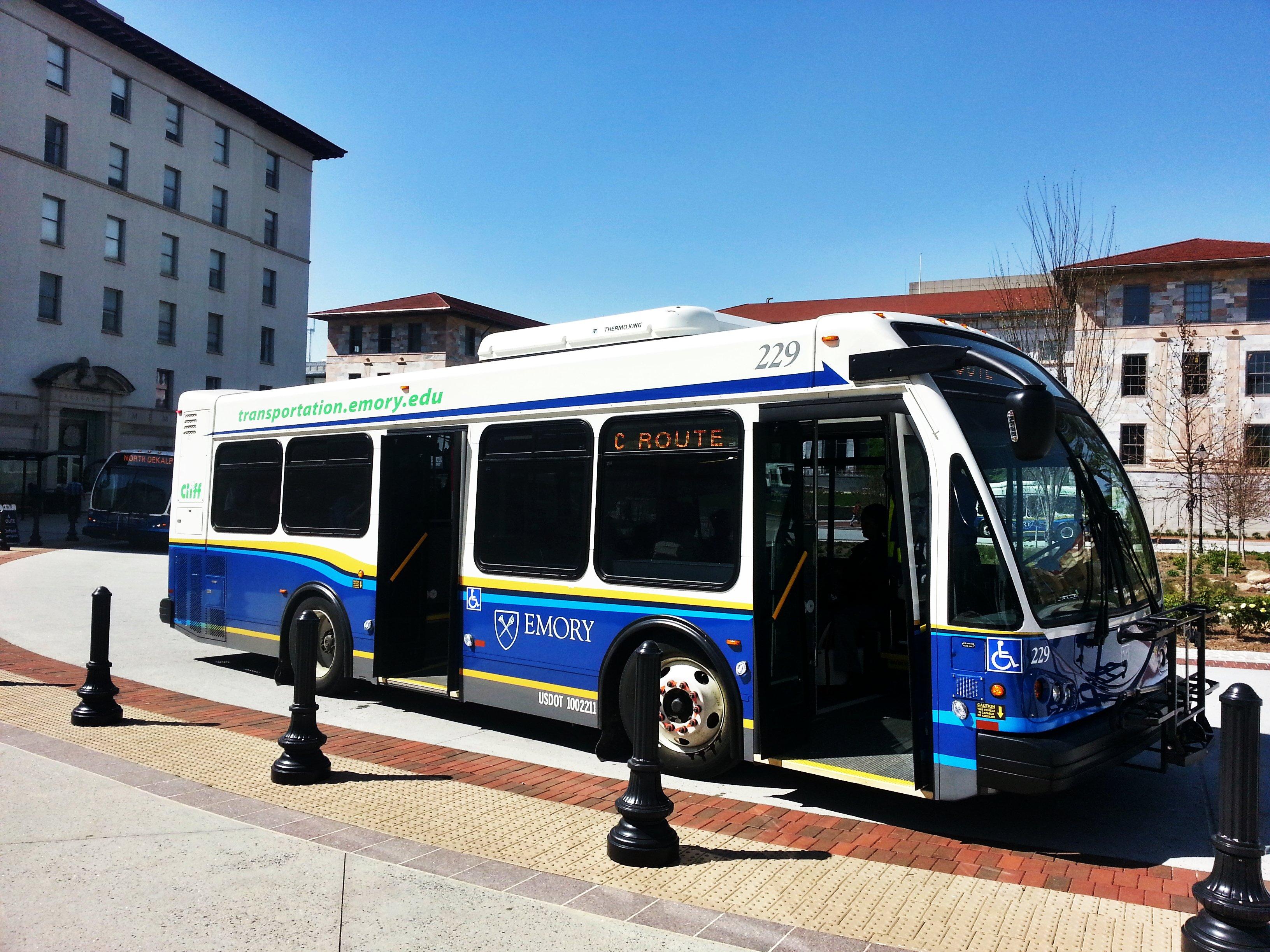 campus shuttle