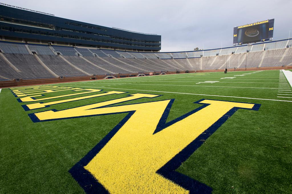 The University of Michigan Football Stadium
