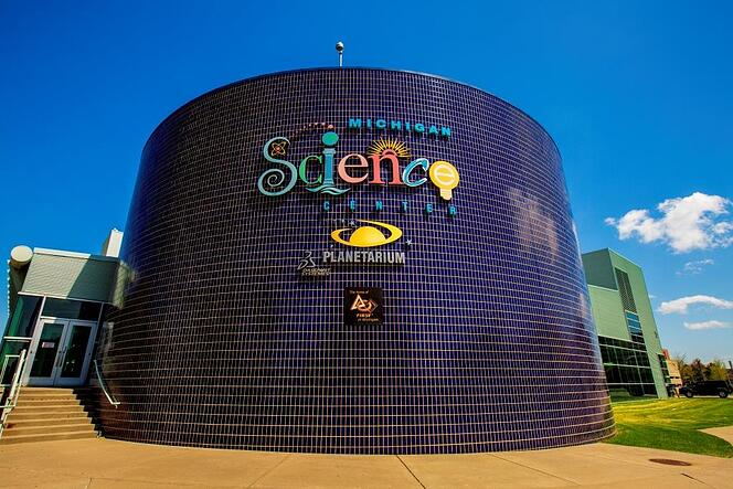 The Michigan Science Center in Detroit is one of Indian Trails top five must-see (and explore!) ideas for Michigan field trips.