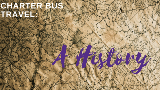 History of Charter bus travel
