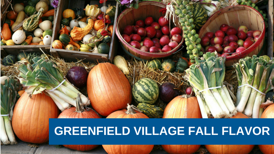 Greenfield Village Fall Flavor Weekends