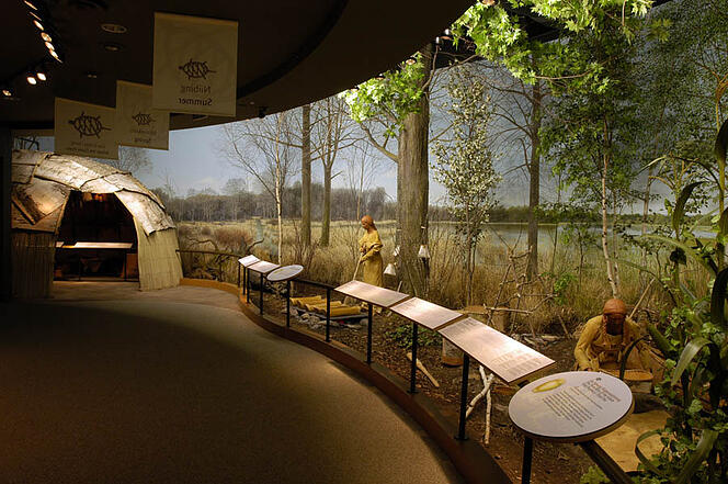 The Ziibiwing Center of Anishinabek Culture and Lifeways in Mt. Pleasant is one of Indian Trails top five must-see (and explore!) ideas for Michigan field trips.
