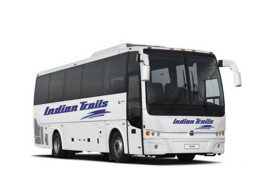 Introducing Indian Trails' New Mid-Size Charter Bus