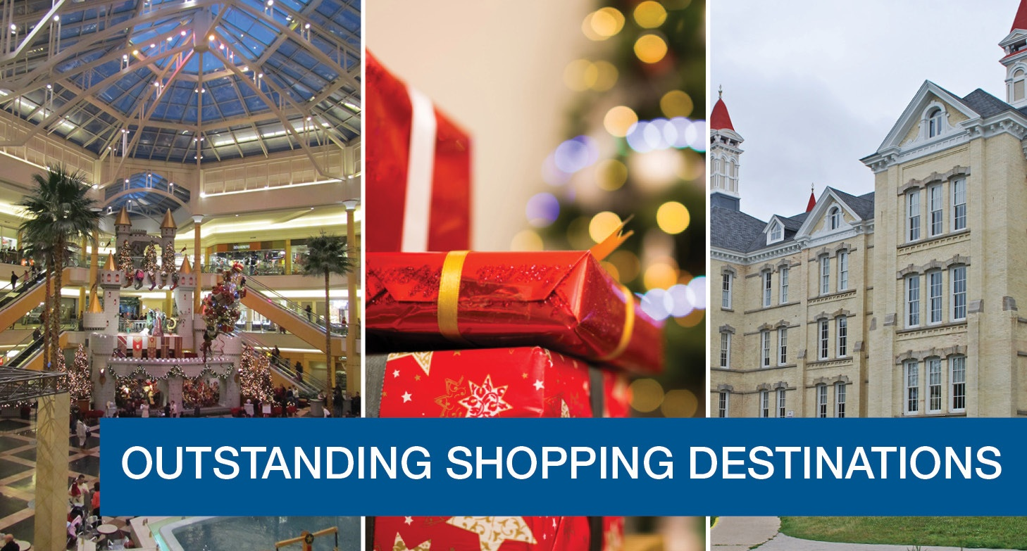 4 Great One-Day Christmas Shopping Trips