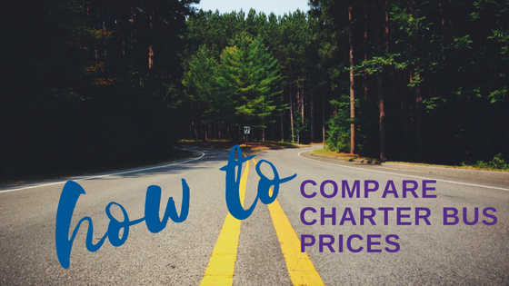 How to Compare Charter Bus Prices