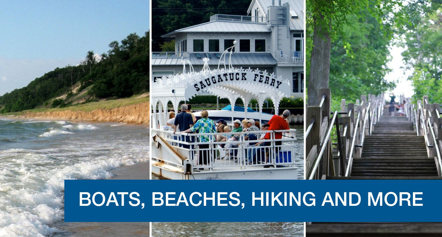 Book a Charter Bus: Destination Saugatuck Douglas