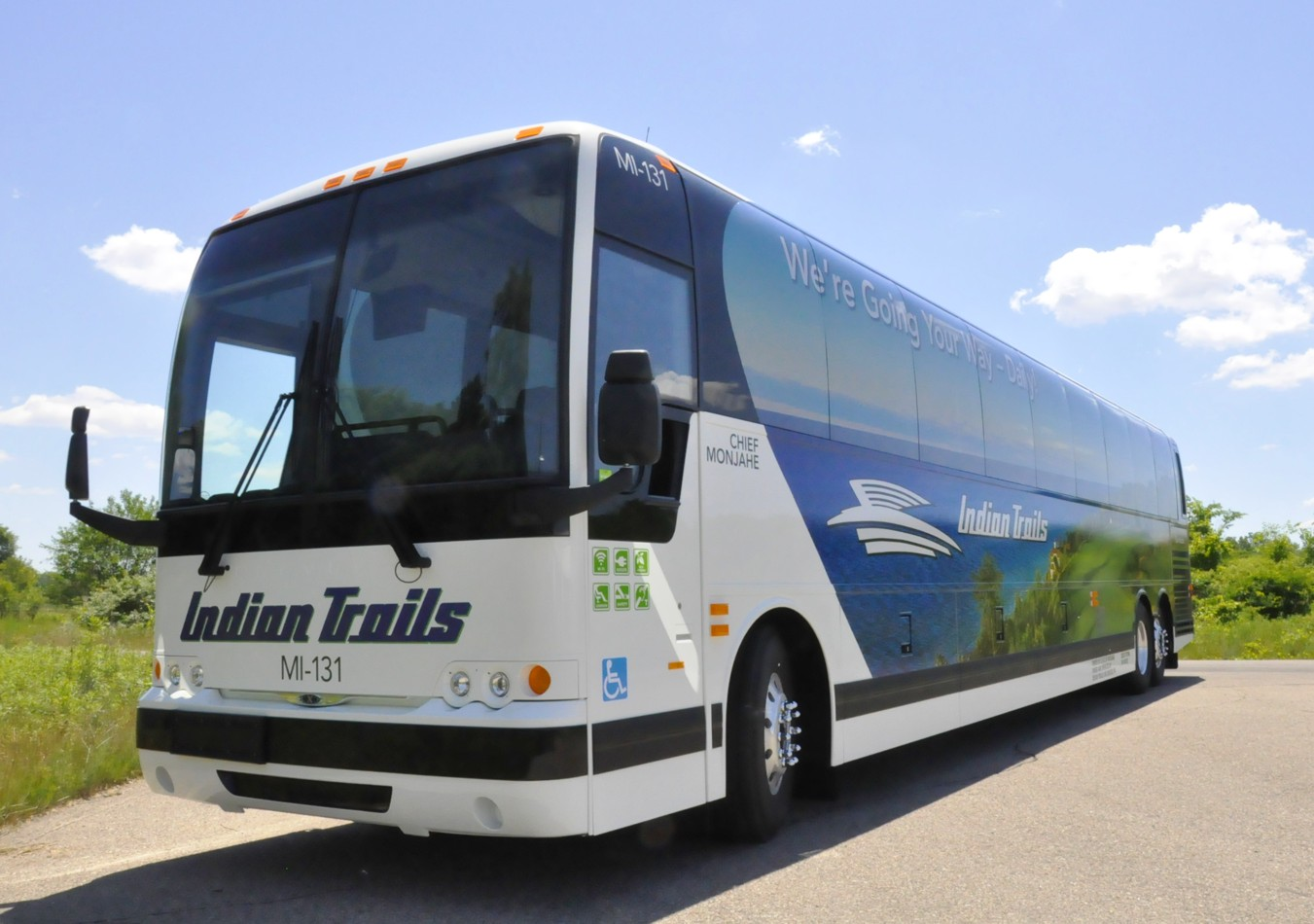 Wi-Fi, Outlets and more: Inside a modern charter bus
