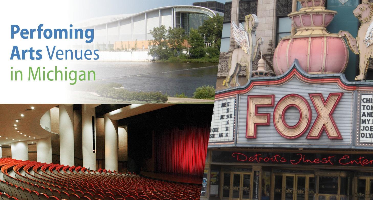 Six Michigan Performing Arts Venues to Explore