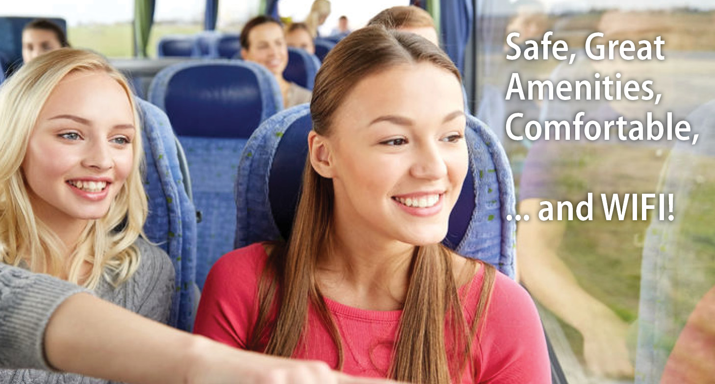 8 Reasons Why Charter Buses are Great for School Trips
