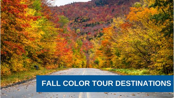 3 Great Fall Color Tour Destinations