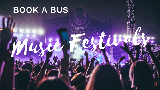 Book A Bus: 5 Epic Summer Music Festivals