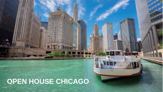 """Book A Bus: Tour """"Open House Chicago"""" with Your Friends"""