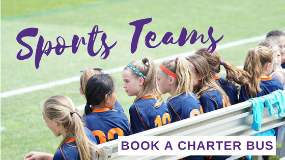 Book a Bus: Charters for Sports Teams